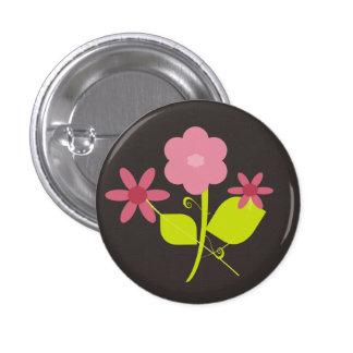 Springtime Flowers Pinback Button