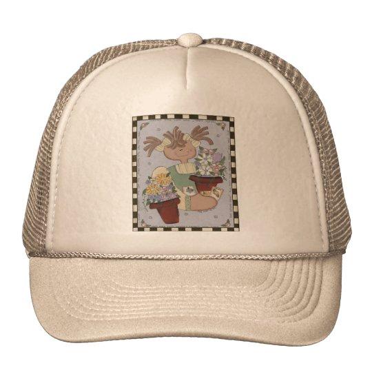 Springtime Flowers Trucker Hat