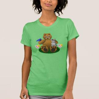 Springtime Friends Animals Woman's T-Shirt