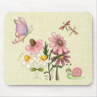 Springtime Friends Mouse Pad