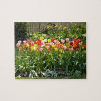Springtime Garden Jigsaw Puzzle