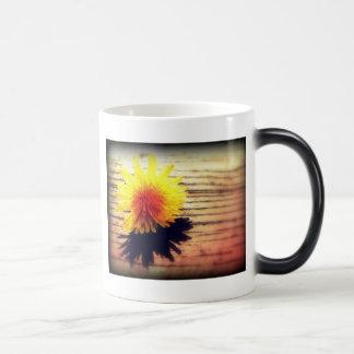 Springtime Golden Yellow Dandelion Wishes Magic Mug