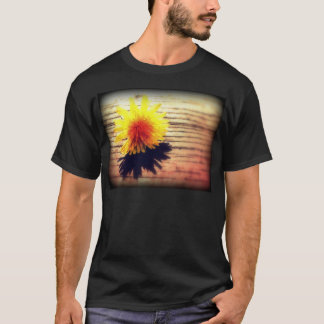 Springtime Golden Yellow Dandelion Wishes T-Shirt