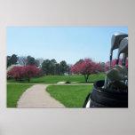 Springtime Golfing Print