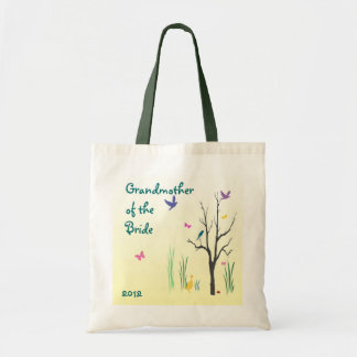 Springtime Grandmother of the Bride Budget Tote Bag