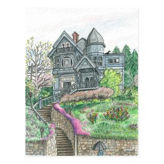 Springtime in Bellingham, Washington Postcard