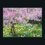 "Springtime in Claude Monet&#39;s garden Canvas Print<br><div class=""desc"">Jaynes Gallery / DanitaDelimont.com | Europe,  France | France,  Giverny. Springtime in Claude Monet&#39;s garden.</div>"