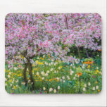 "Springtime in Claude Monet&#39;s garden Mouse Pad<br><div class=""desc"">Jaynes Gallery / DanitaDelimont.com | Europe,  France | France,  Giverny. Springtime in Claude Monet&#39;s garden.</div>"
