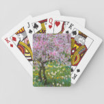 "Springtime in Claude Monet&#39;s garden Playing Cards<br><div class=""desc"">Jaynes Gallery / DanitaDelimont.com 