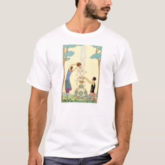 Springtime in France Art Deco T-shirt