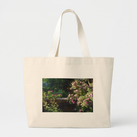 Springtime in New England Large Tote Bag