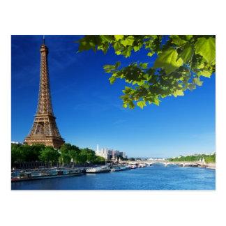 Springtime In Paris Postcard