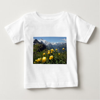 Springtime in the alps baby T-Shirt