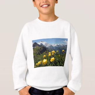 Springtime in the alps sweatshirt