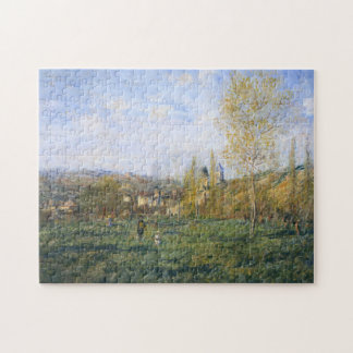 Springtime in Vetheuil Monet Fine Art Puzzle
