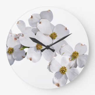 Springtime Large Clock