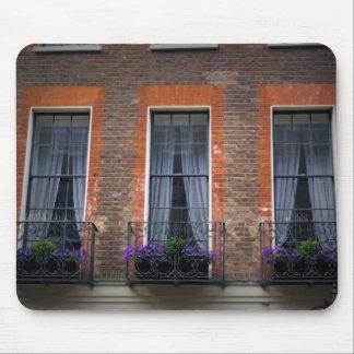 Springtime London Lavender Window Boxes Mouse Pad
