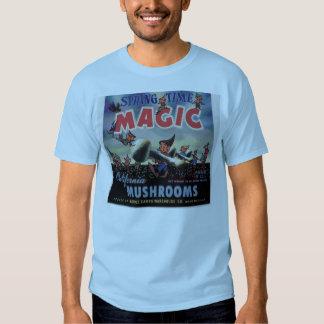 SPRINGTIME MAGIC MUSHROOMS TEES