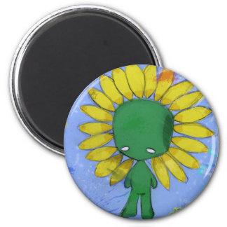 springtime 2 inch round magnet