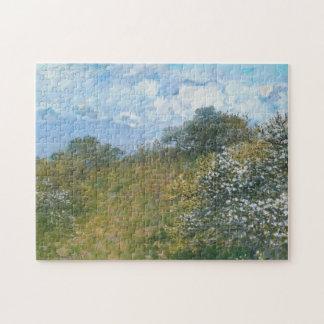 Springtime Monet Fine Art Jigsaw Puzzle