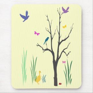 Springtime mousepad
