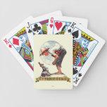 Springtime, muchacho 1935 con el conejito barajas de cartas