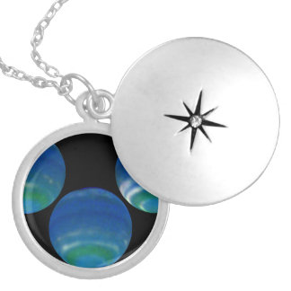 Springtime on Neptune- Increased Brightness Shows Personalized Necklace