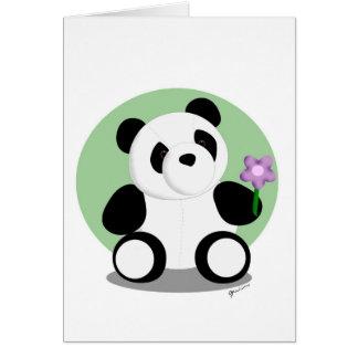 Springtime Panda Card