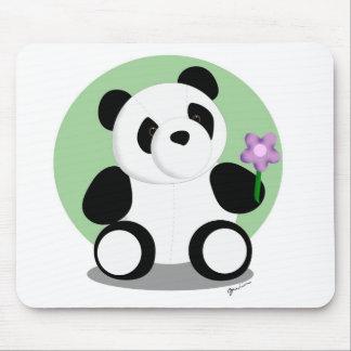 Springtime Panda Mousepad