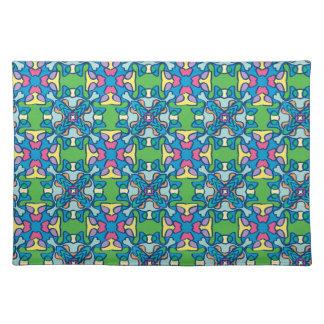 Springtime pattern place mats