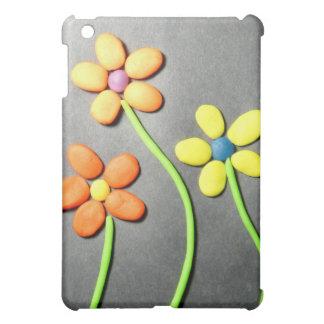 Springtime Playdough Flowers Cover For The iPad Mini