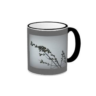 Springtime Pussy Willow Catkins Coffee Mugs