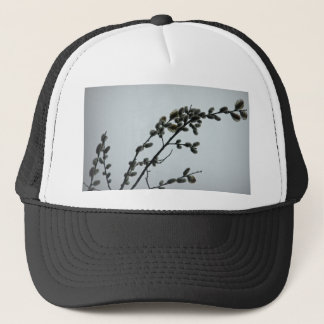 Springtime Pussy Willow Catkins Trucker Hat