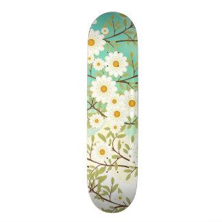 Springtime scene skateboard