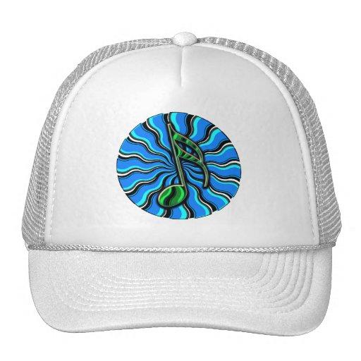 Springtime Semiquaver -  16th Note Music Symbol Trucker Hat