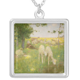 Springtime Silver Plated Necklace