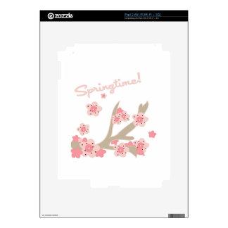 Springtime iPad 2 Skin