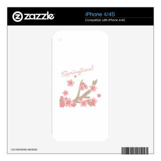 Springtime iPhone 4S Skin