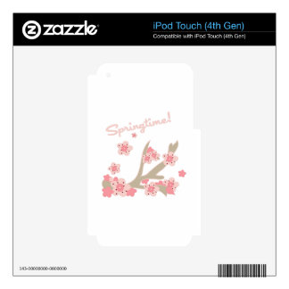 Springtime Skin For iPod Touch 4G