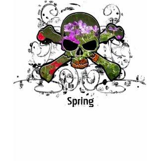 Springtime Skull shirt