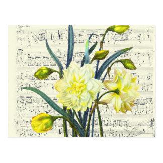 Springtime Song Postcard