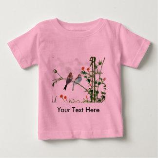 Springtime Sparrows Baby T-Shirt