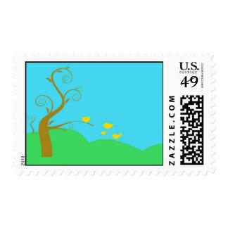 Springtime Stamps