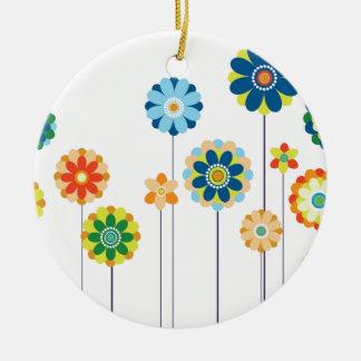 Springtime Step Ceramic Ornament
