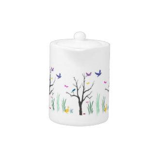 Springtime Teapot