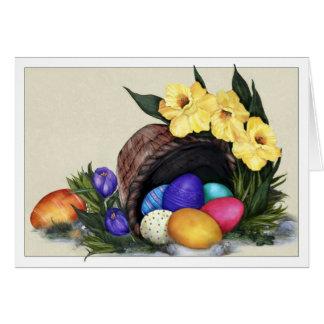 Springtime Treasures Easter Card