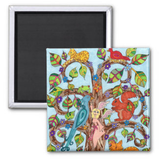 Springtime Tree of Life Magnets