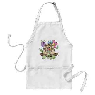 Springtime Turtle Tshirts and Gifts Adult Apron