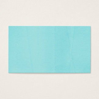 SPRINGTIME TYE-DYED LIGHT BLUE WRINKLE BACKGROUNDS BUSINESS CARD