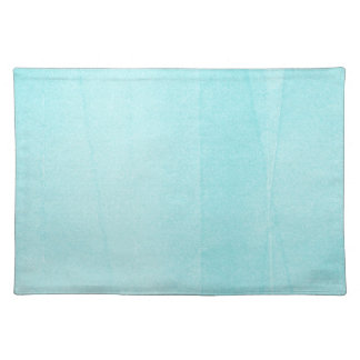 SPRINGTIME TYE-DYED LIGHT BLUE WRINKLE BACKGROUNDS PLACEMAT